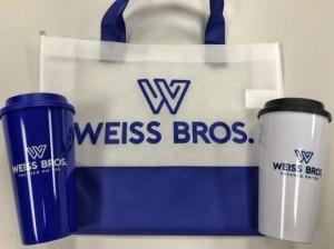mugs and bag