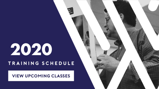2020 Training Schedule