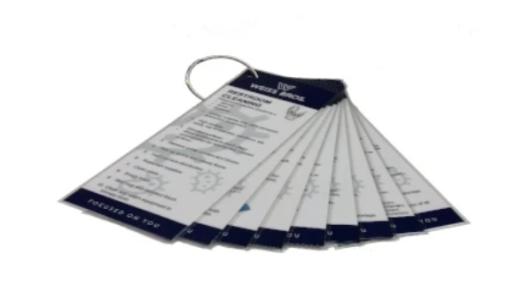 Custodial Flash Cards