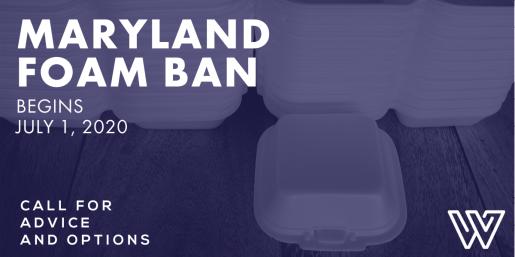 Maryland Foam Ban Info Weiss Bros