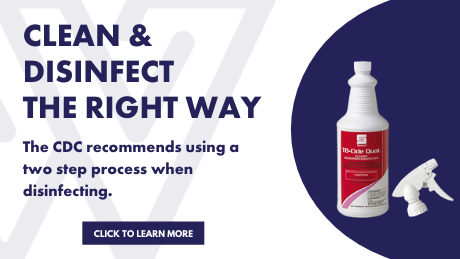 Clean & Disinfect The Right Way
